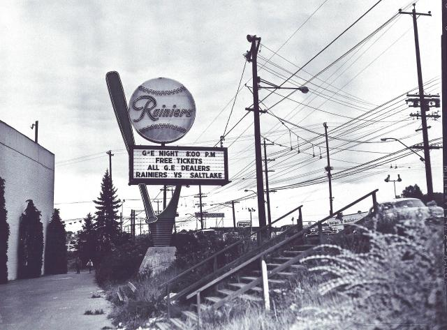 Sicks' Stadium Sign 001